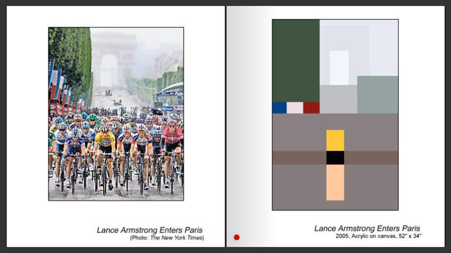 Sevan Melikyan, Lance Armstrong Enters Paris