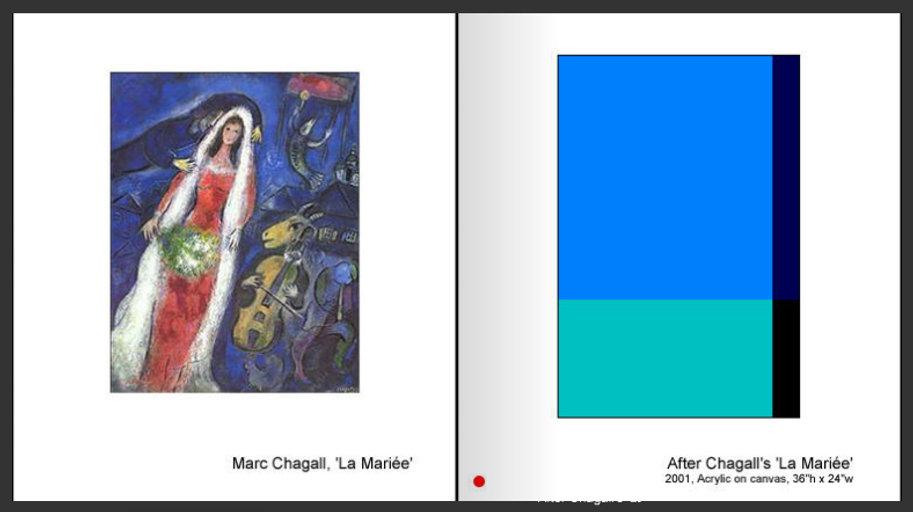 Sevan Melikyan, After Chagall's 'La Mariée'