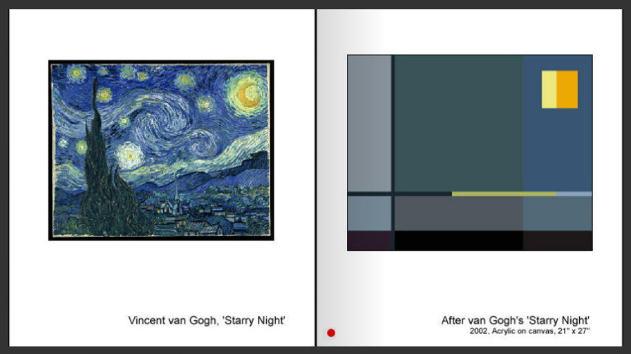 Sevan Melikyan, After van Gogh's 'Starry Night'