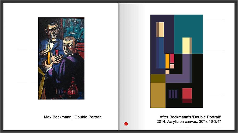 Sevan Melikyan, After Beckmann's 'Double Portrait'