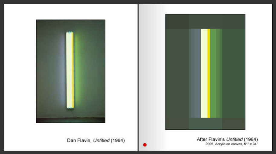 Sevan Melikyan, After Flavin's 'Untitled (1964)'