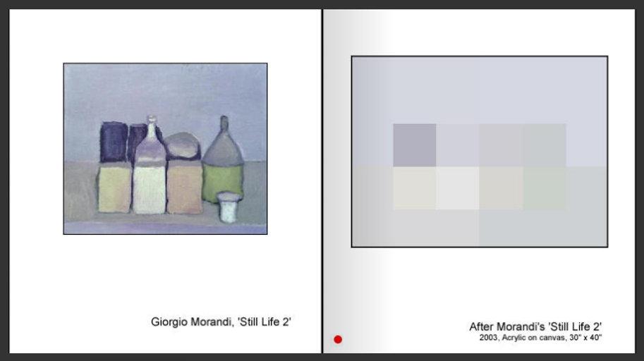 After Morandi's 'Still Life 2'
