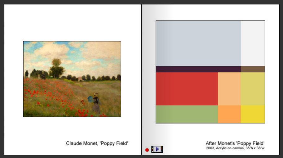 Sevan Melikyan, After Monet's 'Poppy Field'