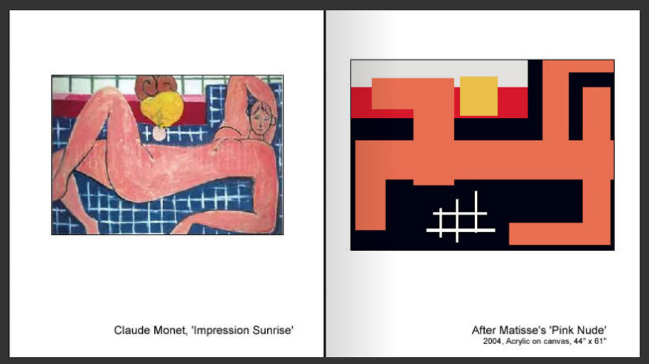 Sevan Melikyan, After Matisse's 'Pink Nude'