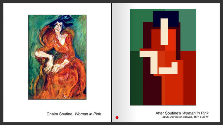 Sevan Melikyan, After Soutine's 'Woman in Pink'