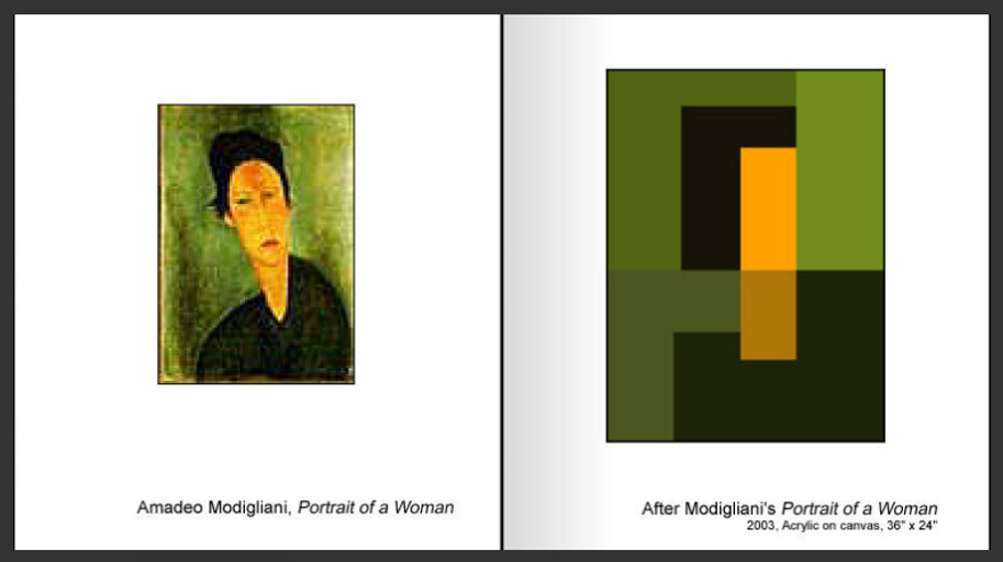Sevan Melikyan, After Modigliani's 'Portrait of a Woman'