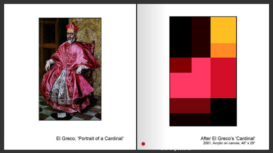 Sevan Melikyan, After El Greco's 'Cardinal'