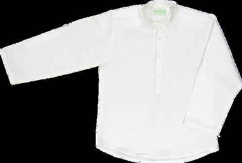 White linen shirt/ Túnica linho branco