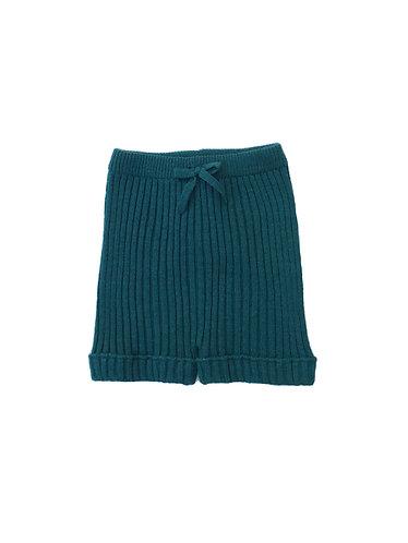 Green Knitted shorts /Calções verdes pecesa malha