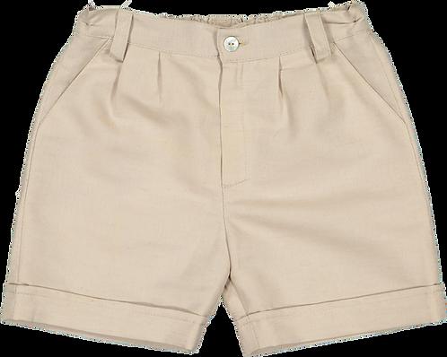 Camel shorts/ Calções cintura bege