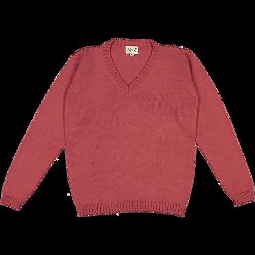 Dark pink Pullover NT