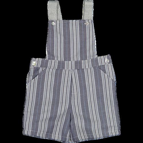 blue stripes overalls/ Jardineiras riscas azuis