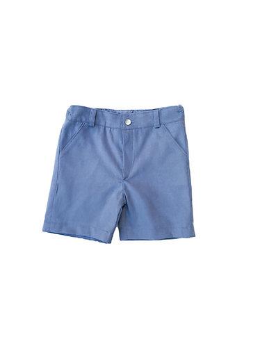 Blue shorts / Calções cintura azuis