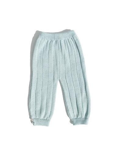 Light green baby wool trousers/ Calças bebé de lã verde água