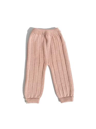 Nude baby wool trousers/ Calças nude bebé de lã