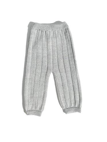 Grey baby wool trousers/ Calças bebé de lã cinzento