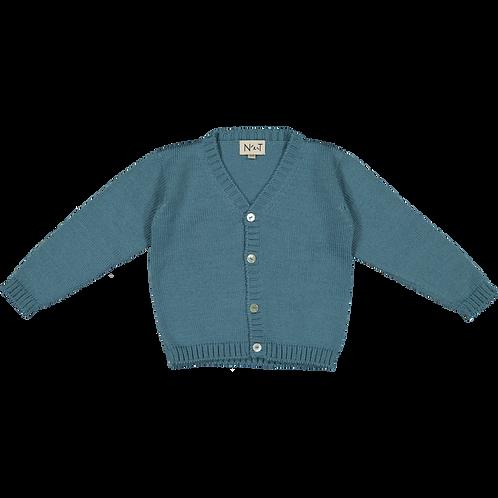 Darkblue Child NT boy cardigan/ Casaco bico NT