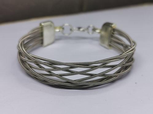 Guitar String Weave Bracelet - Small
