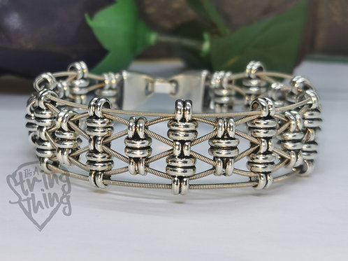Guitar String Weave Bracelet
