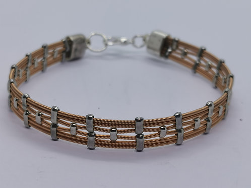 Guitar String Acoustic Bracelet - Medium