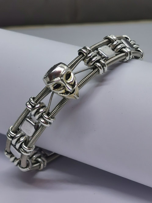 """""""Anonymous"""" Style Guitar String Bracelet"""