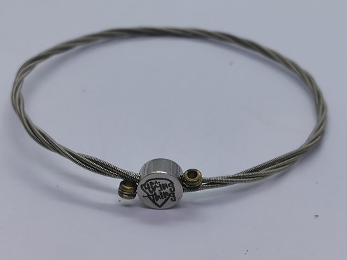 Simple Guitar String Bracelet - large