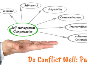 Do Conflict Well: Part 3