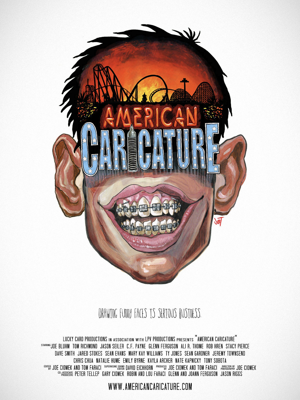 American Caricature Movie Poster