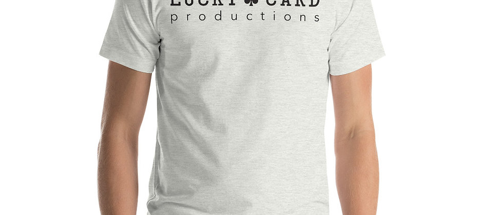 Lucky Card logo Short-Sleeve Unisex T-Shirt