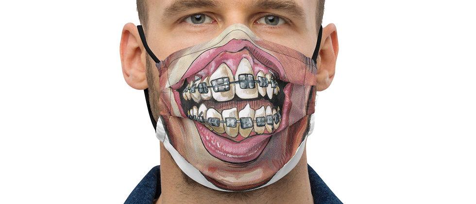 American Caricature Braceface Mask