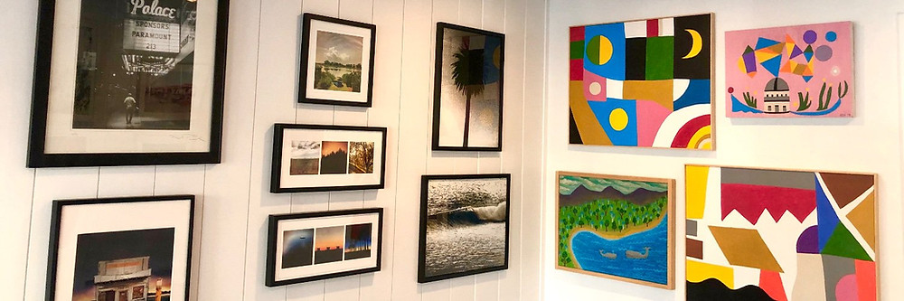 You can shop for contemporary, cleared artwork by Appointment or at the Online Gallery