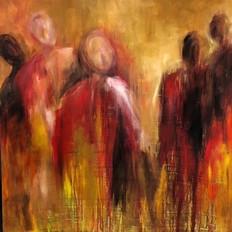 Anissna Siegel - Dynamic painter and photographer