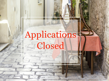 Listing Applications Opening