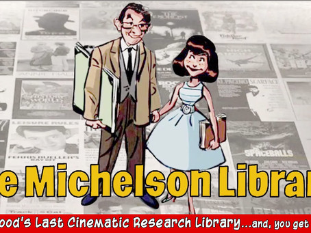 The Michelson Library For Visual Artists & Cinematic Research
