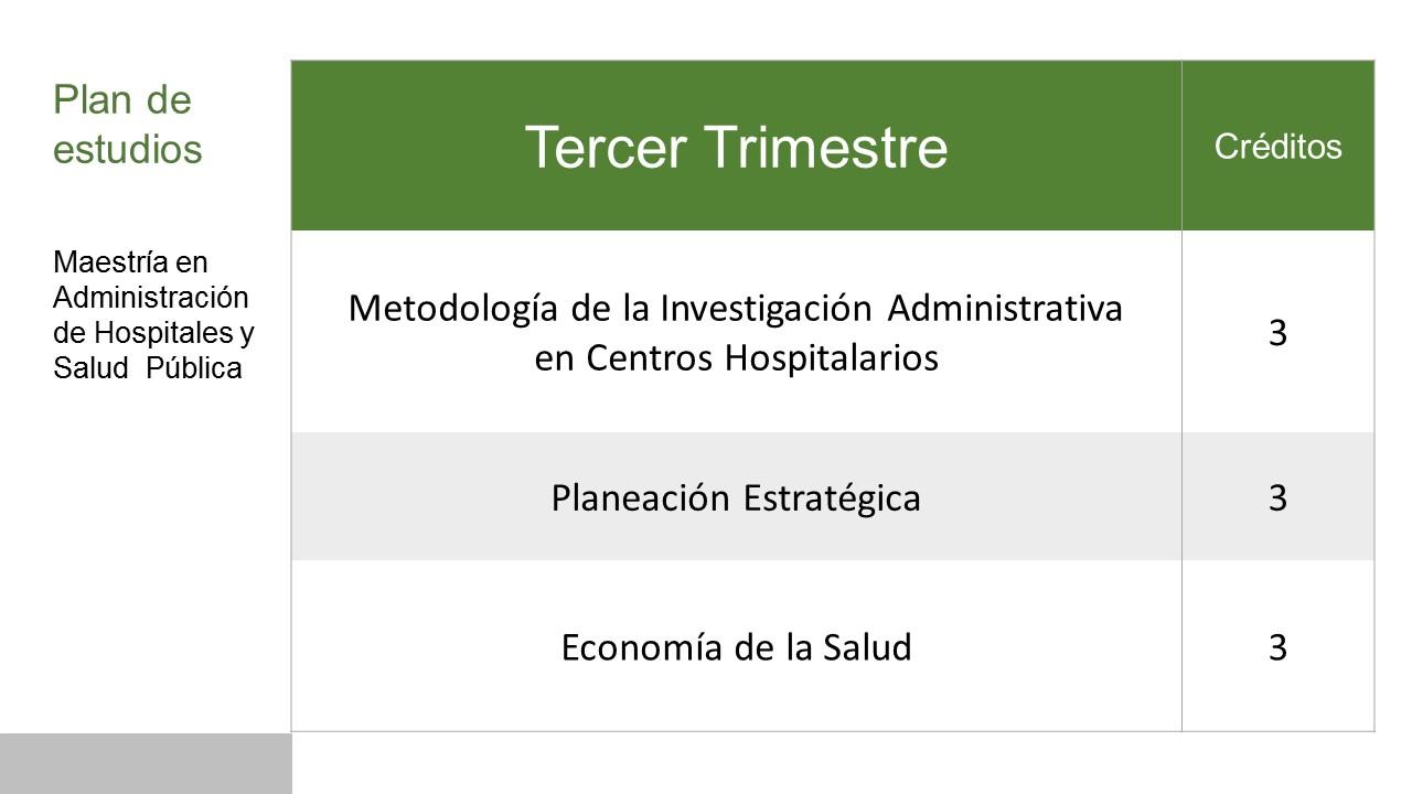 3 Trimestre