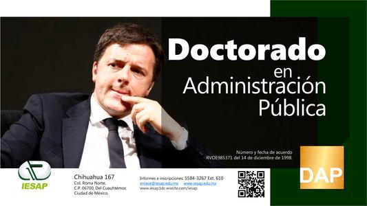 Doctorado en Administración Pública