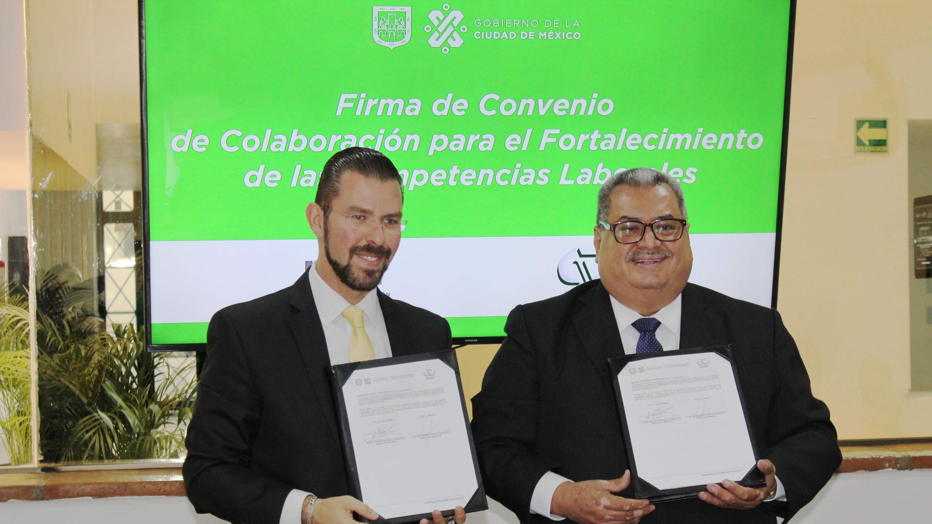 Mtro Escamilla Director ICAT CDMX