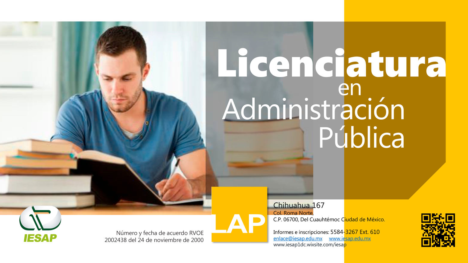 Licenciatura Administración en Pública