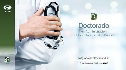 Doctorado  en  Administración de Hospitales y Salud Pública