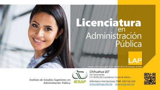 Licenciatura en Administración Pública
