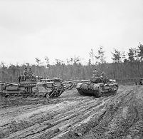 Churchill tanks of 107th Regiment RAC (K