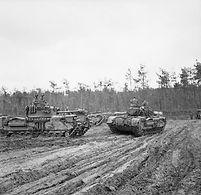 Churchill tanks of 107th Regiment RAC (K