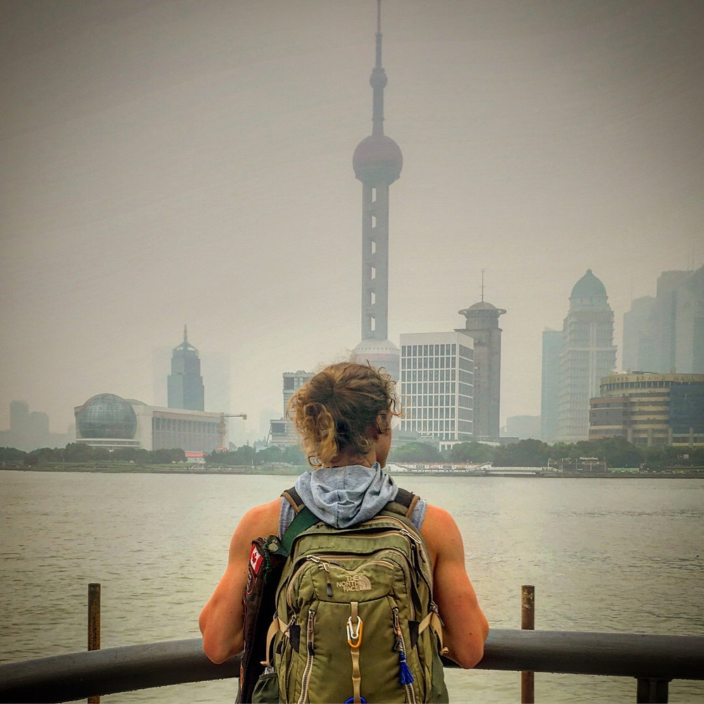 12 hour layover in Shanghai with travel author John Early The bund