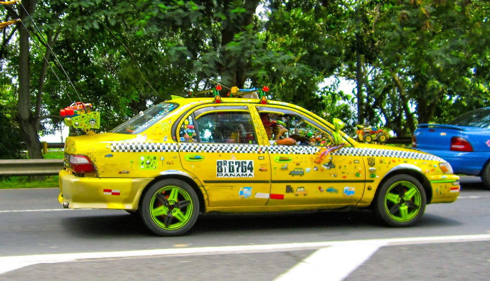 Crazy panama city taxi