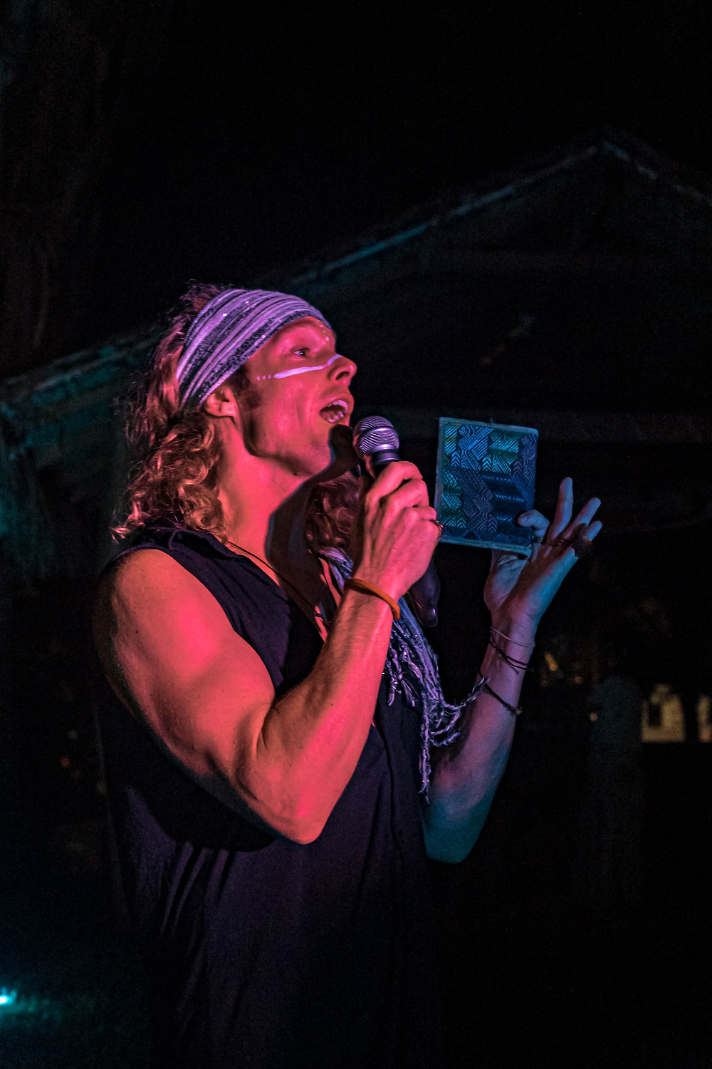 John Early, spoken word from Momentom Collective at Visionaries Immersion Costa Rica 2021 (Photos  by @Aluxcr)
