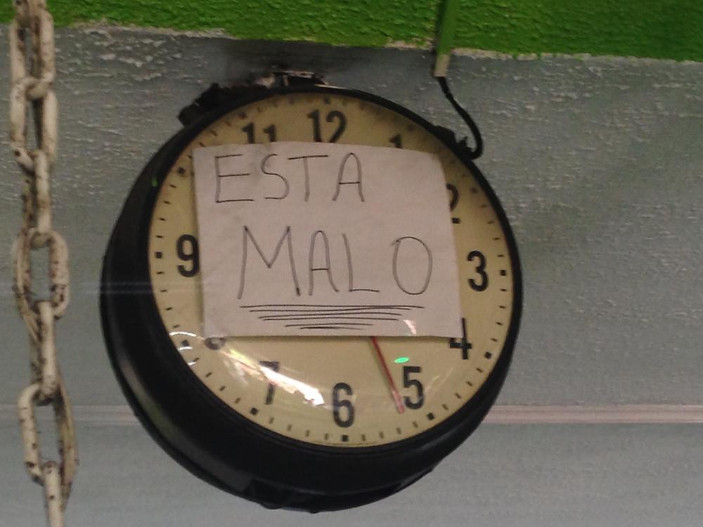 esta malo clock costa rica (Photo by John Early)