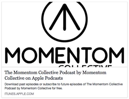 Momentom Collective iTunes Podcast Logo