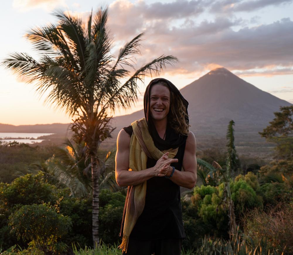 John Early at Inanitah, Isla Ometepe Sunset Nicaragua