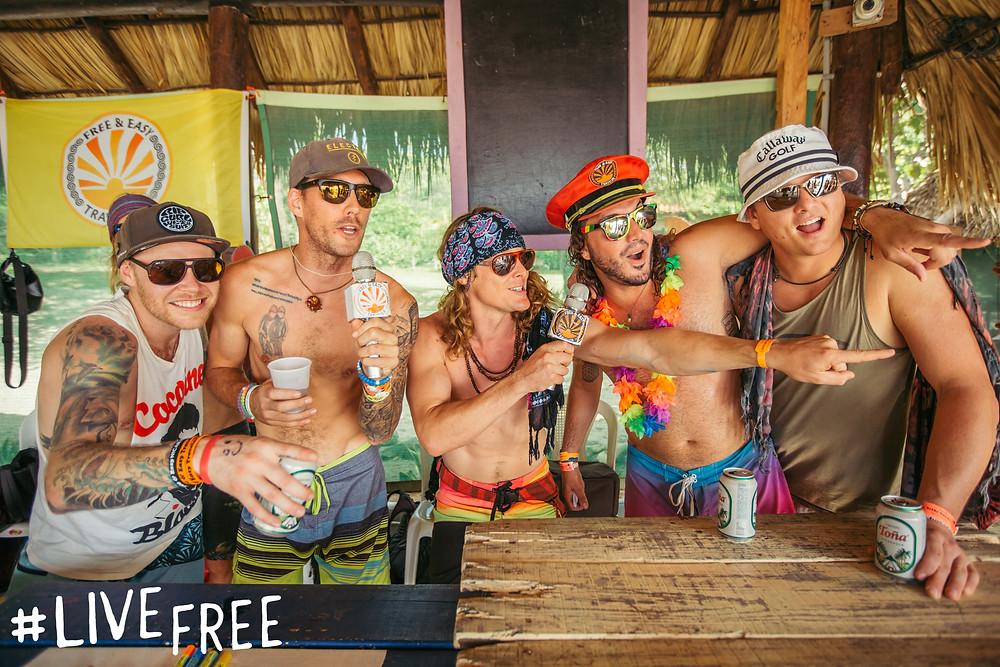 FnEZ Final FIesta Nicaragua Live Free