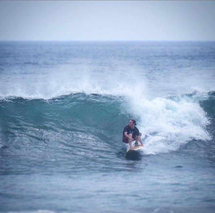 John Early surfing at Casa Horizon, Playa Escameca Nicaragua | Surf Nica San Juan del Sur Photo by Jota